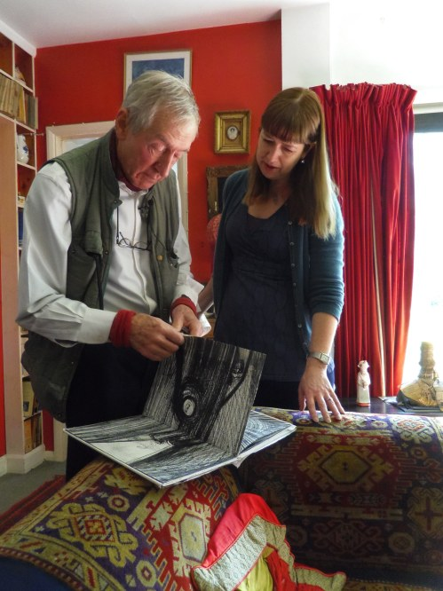 Raymond Briggs and Camilla Deakin_March 14th 2016