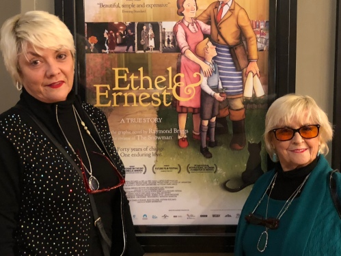 Nuart Theatre Los Angeles Dec 15th 2017_with Angie McCartney and Ruth McCartney attending screening of Ethel and Ernest